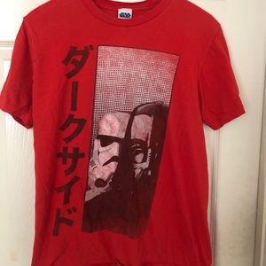 STAR WARS Darth Vader Stormtrooper shirt M Japan
